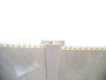 H Trim (white) for PVC Panels