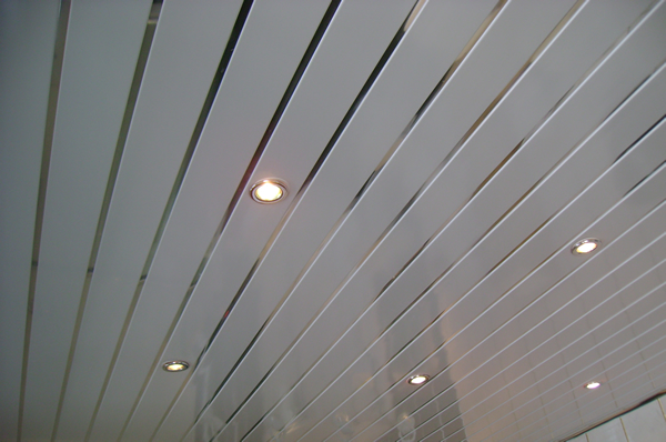 Discount Pvc Cladding For Bathrooms In C Line Silver
